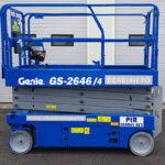 Béreljen Genie GS 2646 - 5.2 ollós emelőt, ha fontos a profi munka
